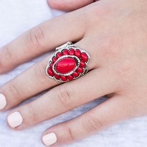 Jewelry - 🍒 Will you BEAD My girl? Red ring